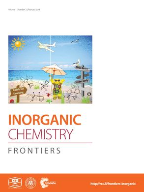 Cover Inorg.Chem.Frontiers 2014